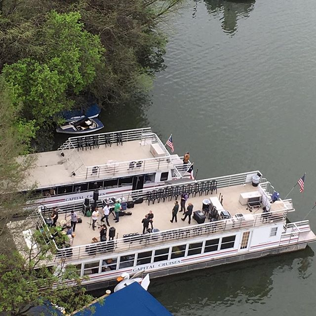 someone's prepping a boat party.#sxsw