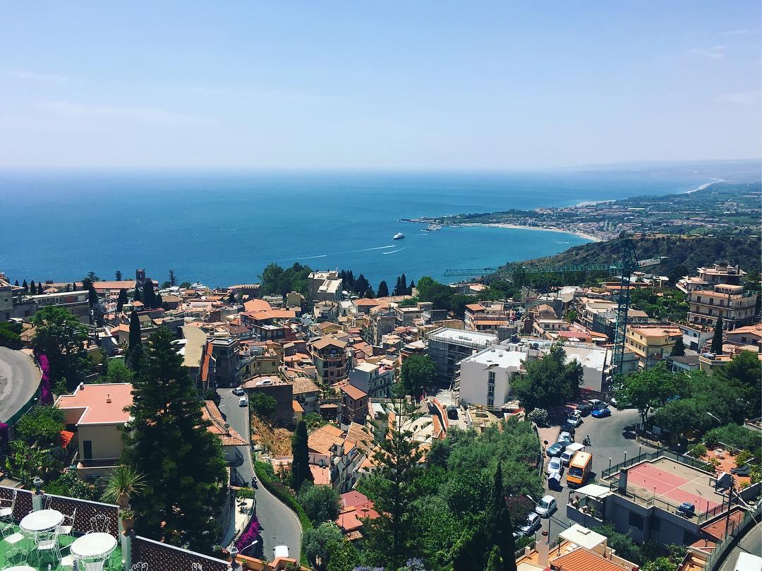 A fine day in Taormina, Sicily