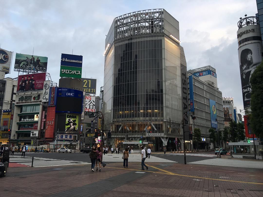 Early morning shoot in Shibuya
