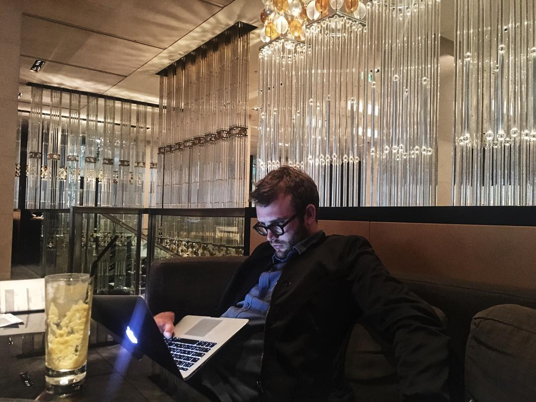 meeting with Jason in Melbourne