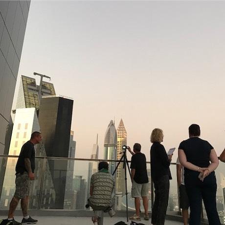 back in  Dubai!