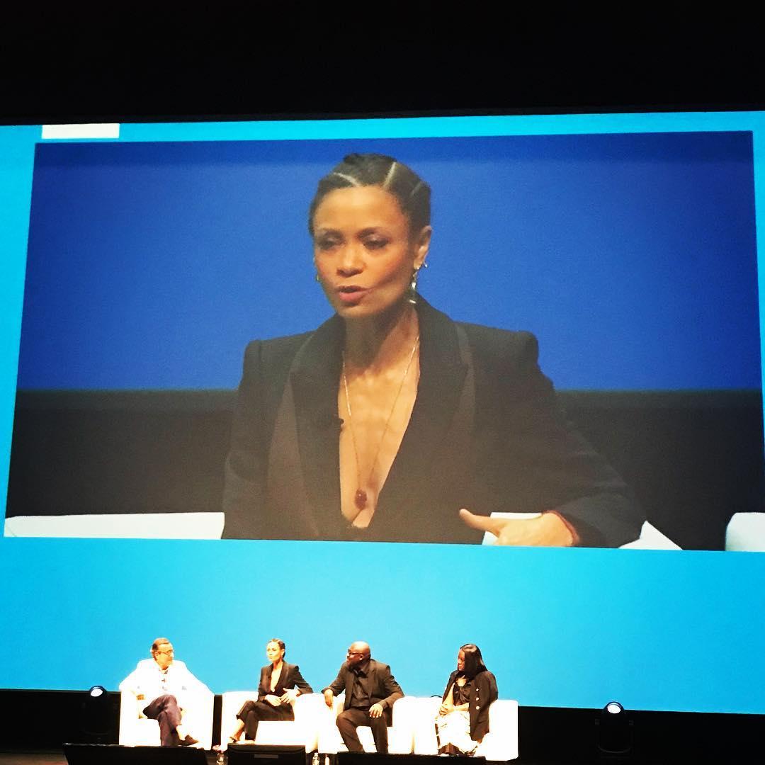 Thandie Newton taking about diversity