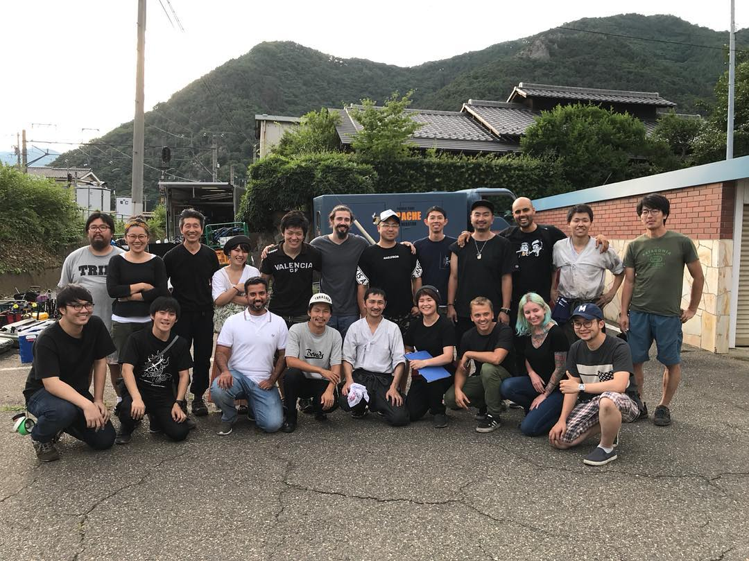 It's a wrap! It was so much fun shooting in Nagano, Japan with  lots of love from