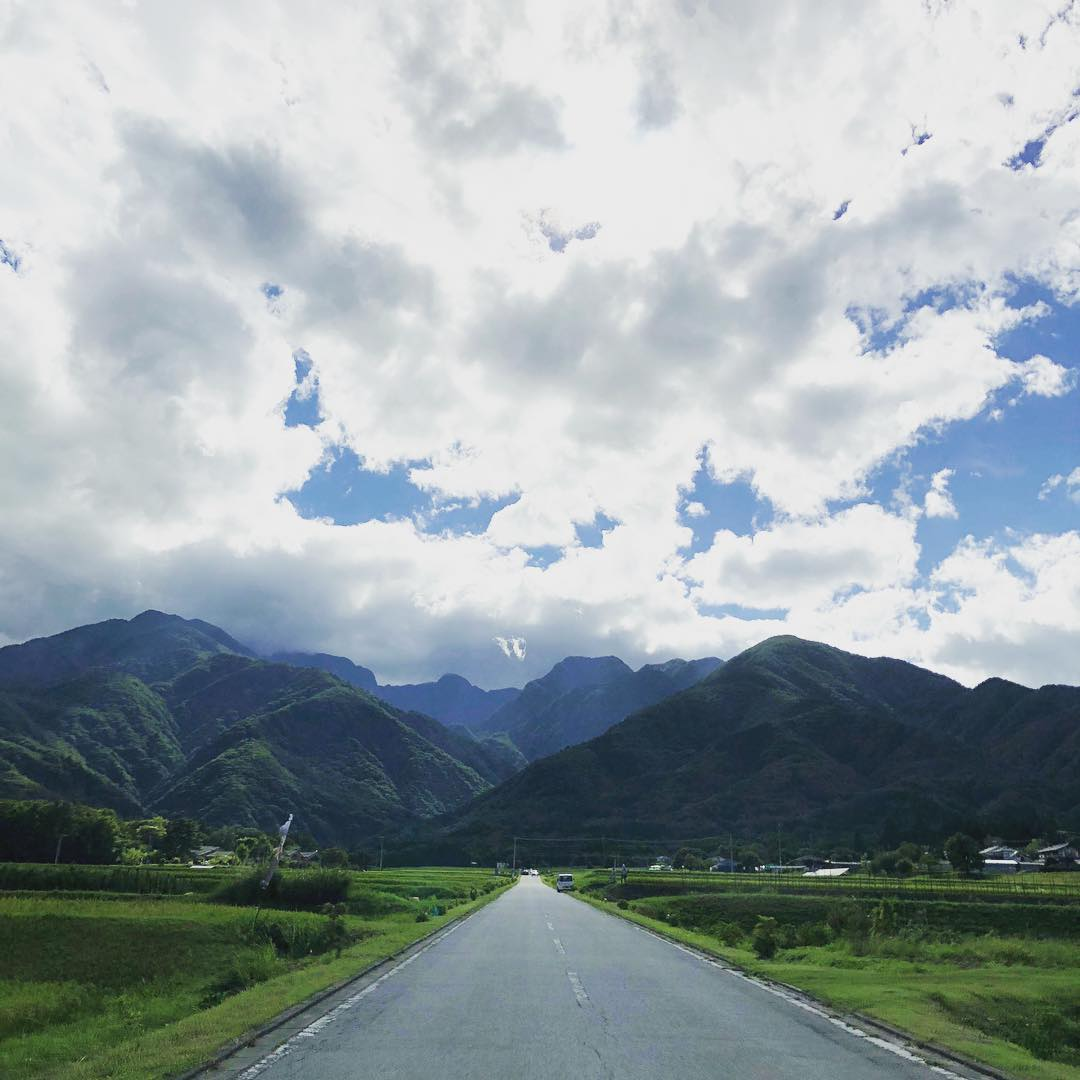 Beautiful countryside just 2 hours drive from Tokyo