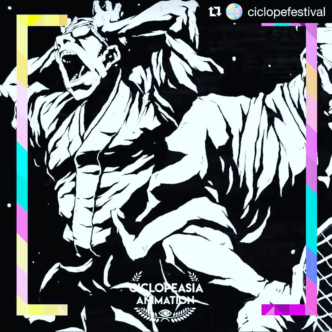 """Thank you Ciclope Asia:) @ciclopefestival ・・・ Congratulations to Nissin Foods Holding and its """"Samurai Noodles 'The Originator'"""" winning the """"Animation"""" Award! Production Company: AOI Pro. Inc.; Director: Yasuda Daichi; Animation Company: Nishikaigan Co.NISHIKAIGAN; Agency: SAMURAI Inc./small inc./BOKU TO YOU Inc."""