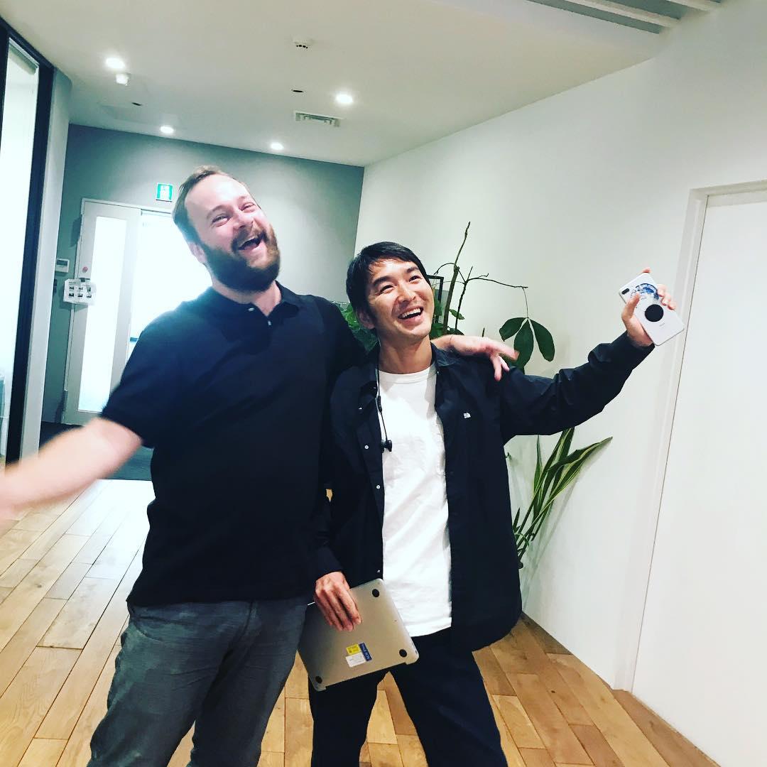 Thank you for visiting Derek!!! Welcome to Tokyo:) @derekvanegmond