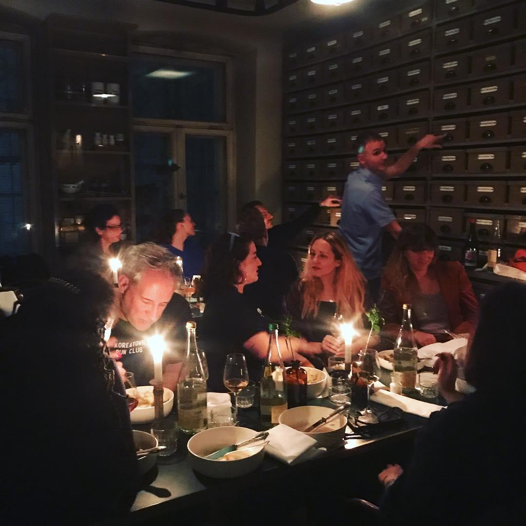 Thank you @radicalmedia for a wonderful dinner!!!!
