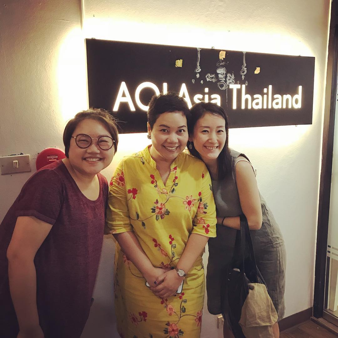 Our Thailand office @mint_apavadee