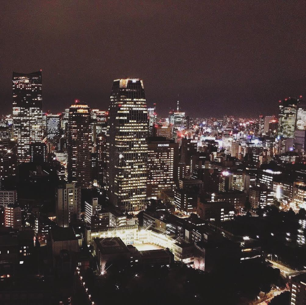 This week's update from AOI Global: Night view from Tokyo Tower