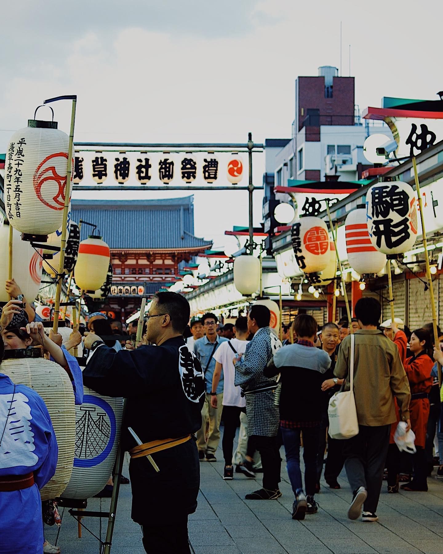 """This week's update from AOI Global: Sanja-matsuri, Asakusa, Tokyo   """"Sanja-Matsuri"""" is held in the middle of May every year. It is one of the three major festivals held in Tokyo!!     #filmmakersworld     #festival #whenintokyo"""