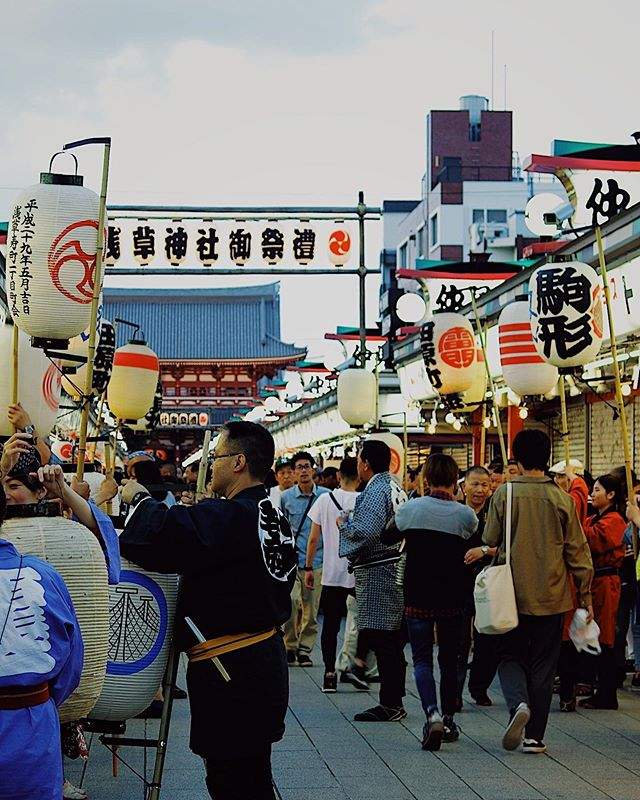 "This week's update from AOI Global: Sanja-matsuri, Asakusa, Tokyo   ""Sanja-Matsuri"" is held in the middle of May every year. It is one of the three major festivals held in Tokyo!!     #filmmakersworld     #festival #whenintokyo"