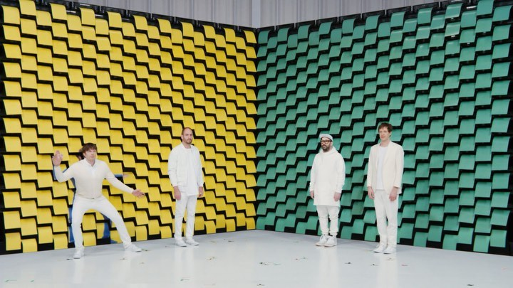 "_ OK GO's music video ""Obsession"" directed by Yusuke Tanaka & Damian Kulash that won numerous awards at Cannes last year! Watch with sound from the link in bio!!!"