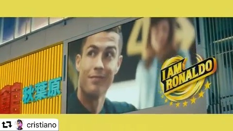 """_ Our works for American Tourister, posted by @cristiano !! @cristiano ・・・ Whether it's for a match or a vacation, travel always brings back a new me.😎 What about you? """"Who"""" do you bring back from your trips?"""