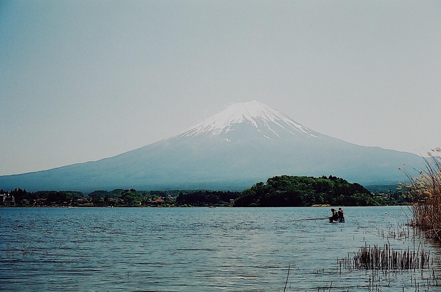 """_ Here's this week's update of from AOI Global at Lake Kawaguchi, Yamanashi Pref.  There are several lakes around Mt. Fuji and they are often known as """"Fujigoko / Fuji Five Lakes"""". Lake Kawaguchi is also one of them.  #aoiglobal #shootinglocation #filmmakinglife"""