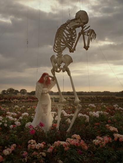 Malgosia Bella & Skeleton. 2009. Harper's Bazaar